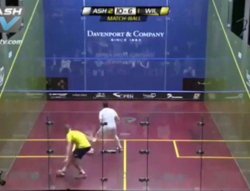 Petite feinte à reproduire lors de vos prochaines séances de squash !