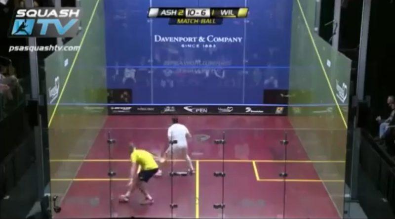 feinte au squash