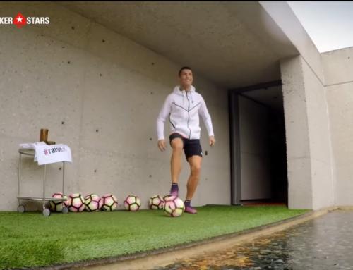 Cristiano Ronaldo VS drones
